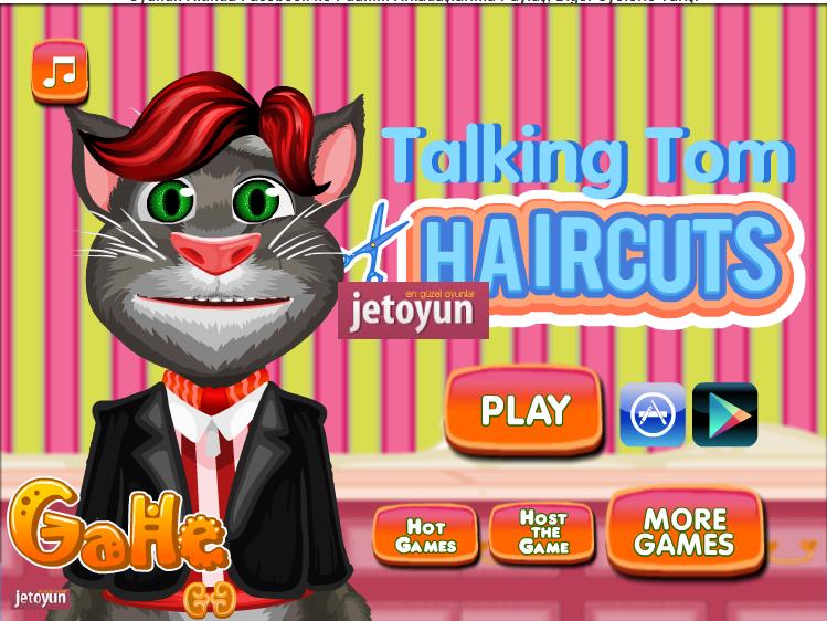 Кот прически игра