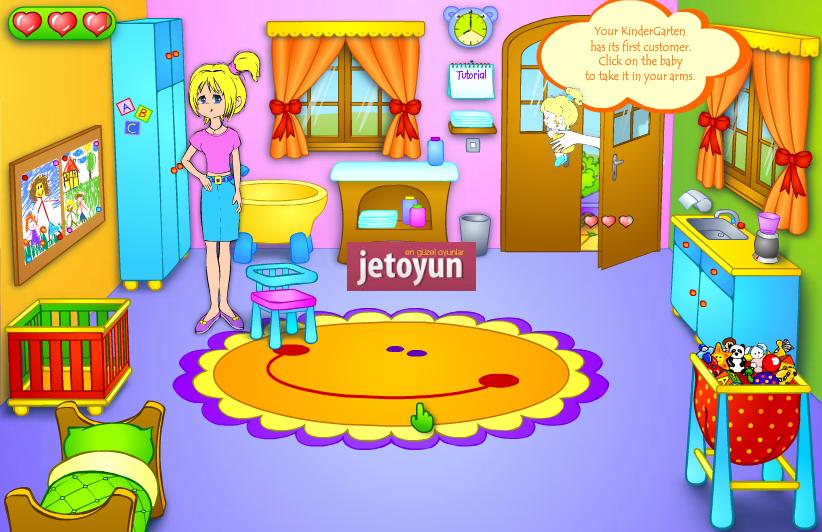 Anaokulu Oyunu Oyna - Bebek Oyunları