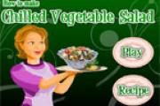 Soğutulmuş Sebze Salatası