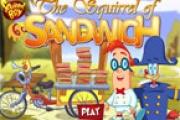 Sandviç ile Sincap