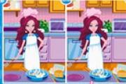 Aşçı 7 Farkı Bulma