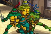 Ninja Kaplumbağalar Puzzle 3