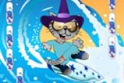 Sörfçü Kedi Giyindirme