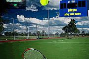 Tenis Topu Parçalama