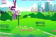 Barbie Bisiklet  Sürme