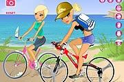 Bisikletçi Kızlar