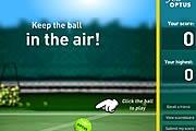 Tenis Topu Zıplatma