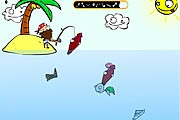Adada Balık Tutma