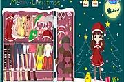 Noel Kızı Giydirme 2