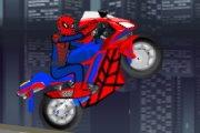 Örümcek Adam Motor Sürme