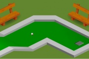 Mini Golf Sahası 1