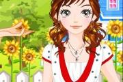 Bahçedeki Kız