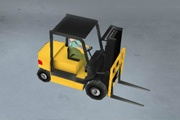 3D Forklift Şoförü
