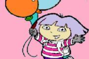 Balonlu Dora Boyama