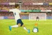 Golcü Futbolcu Şut Çekme