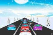 Çılgın Noel Baba Araba Yarışı