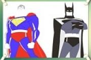 Batman Superman Boyama Oyunu