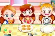 Hazel Bebeğin Yemek Saati