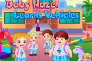 Hazel Bebek Araba Sürmeyi Öğreniyor