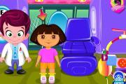 Dora Göz Doktorunda