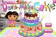 Dora Pasta Yapıyor