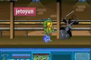 Ninja Kaplumbağa Spinter Ustayı Kurtar