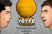 Ronaldo ve Messi Dövüş