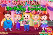 Hazel Bebeğe Doğum Günü Süprizi