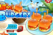 Mini Burger Yapımı