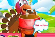 Papağan Yemek Yapıyor
