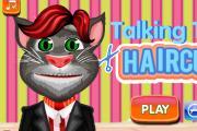Konuşan Kedi Tom Saç Kesimi