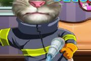 İtfaiyeci Konuşan Kedi