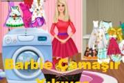 Barbie Çamaşır Yıkıyor