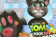 Konuşan Kedi Tom Ayak Doktorunda