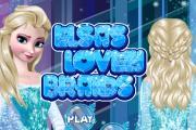 Elsa'nın Saçlarını Yap