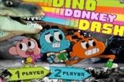 Gumball Dino Dinazordan Kaçış
