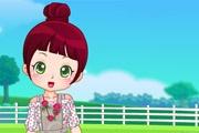 Sevimli Çiftçi Kızı