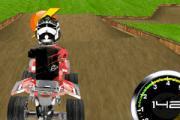 3D Çılgın ATV Yarışı
