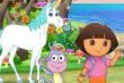 Dora Atlantisin Sırrı (Dora At Sürüyor)